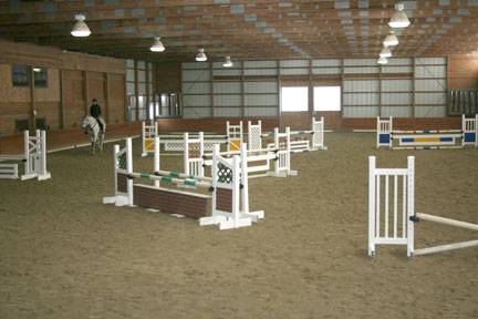 Jump Course Indoors